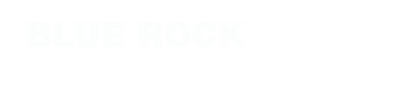 Blue Rock footer logo