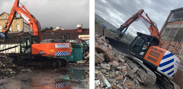 Demolition example images